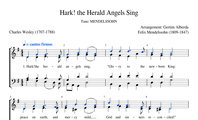 89. Hark! the herald Angels sing