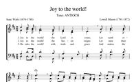 97. Joy to the world! The Lord is come!